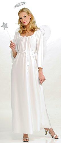 Rubie's Angel Costume, White, One -