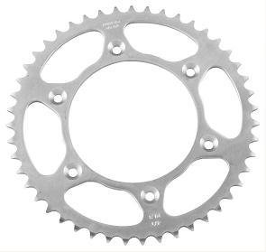 (Sunstar Steel Rear Sprocket - 48T , Sprocket Teeth: 48, Color: Natural, Sprocket Position: Rear, Sprocket Size: 530, Material: Steel 2-538948)