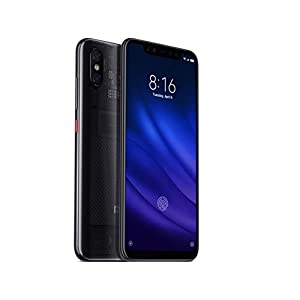 Xiaomi Mi 8 Pro (128GB, 8GB RAM) with In-Screen Fingerprint Reader, Dual Camera's, 6.21″ AMOLED Display, Factory Unlocked – Global Version No Warranty (Transparent Titanium)