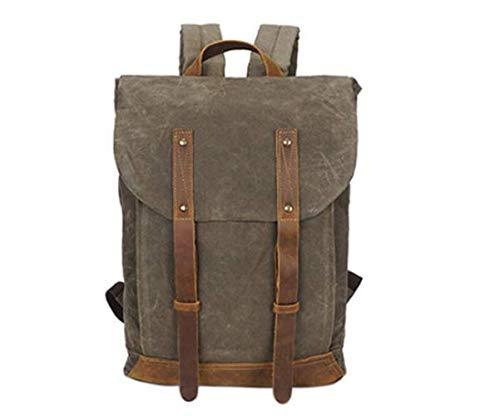 Hjfbw Canvas Outdoor Handbags Shoulder Men's Leisure Bag Messenger Computer rrwSqFx