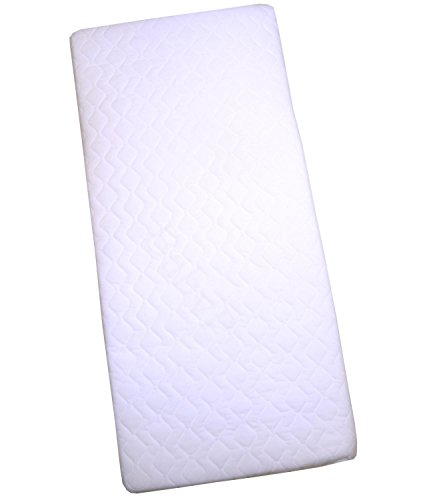 Cradle Mattress 35 x 16 x 1.5'' Standard or Quilted Option QUILTED by BabyPrem