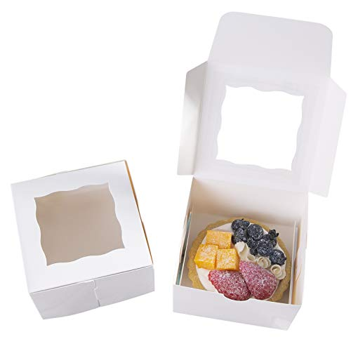 Mini Cake Boxes ([24pcs]ONE MORE 4