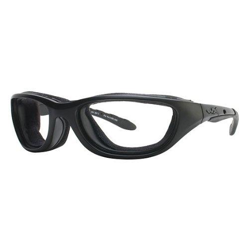 Wiley X Airrage Sunglasses Smoke Grey/Matte Black - Eyewear Wiley