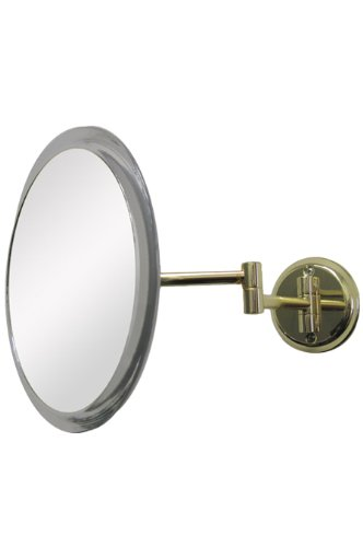 Non Lighted Wall Mount - Single Sided Non-Lighted 5X Magnification Wall Mount Mirror