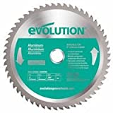 TCT Metal-Cutting Blades, 9 in, 1 in Arbor, 3,000 rpm, 48 Teeth (2 Pack)