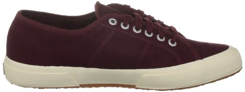 2750 Sneaker Boredeaux Red Women's Superga Dark Cotu nawHF7W