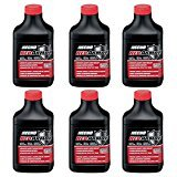 Echo 6 Pack of 2.6oz Red Armor Two Cycle Engine Oil, 1 Gallon Mix (50:1)