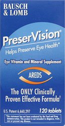B&L Preservision Sftgels Size 120ct Bausch & Lomb Preservision Soft Gels