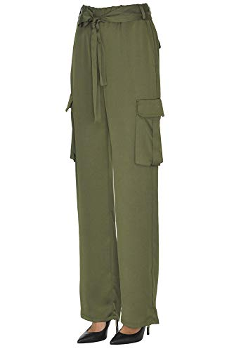Poliéster Pantalón Mujer Pinko Ezgl016250 Verde qqTx7twf