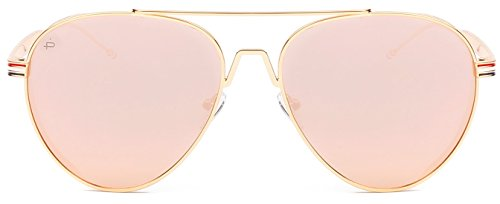 screw detail metal sunglasses - 7