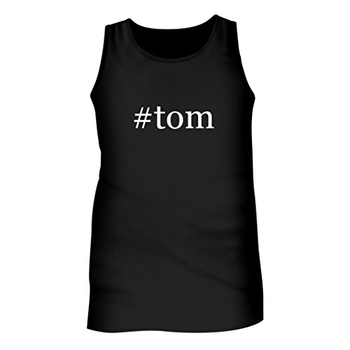 Tracy Gifts #Tom - Men's Hashtag Adult Tank Top, Black, Small