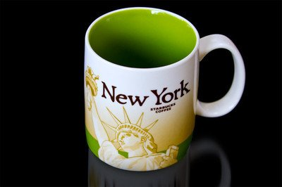 Starbucks Coffee NEW York Global Icon Collector Series City Mug Cup Skyline-discontinued-grab It NOW (Starbucks City Mugs New York)