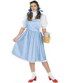 [Dorothy Costume - Plus Size - Dress Size 16-22] (Dorothy Of Oz Costumes For Adults)