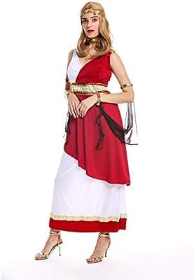 dressmeup - W-0256-S/M Disfraz Mujer Feminino Diosa sacerdotisa ...