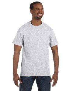 Jerzees Dri-Power Mens Active T-Shirt 4X-Large Ash (Polo Ash Grey T-shirt)