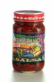 Ranch Salsa - FROG RANCH Salsa Hot, 16 OZ