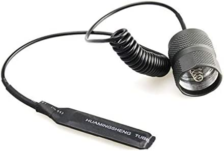 Pulsador remoto para linterna Trustfire Z5 Zoom 1Led cree T6 xml flashlight