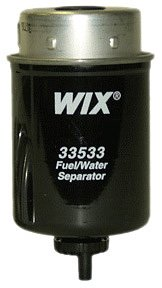 WIX Filters - 33533 Heavy Duty Key-Way Style Fuel Manage, Pack of 1 by Wix