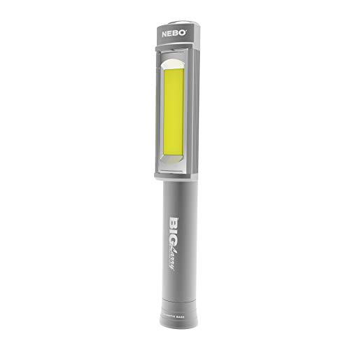 NEBO 400-Lumen Mechanic Inspection Flashlight Extremely Bright COB LED Work Light with a Strong Magnet Built into The Base