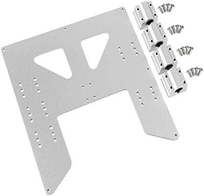 CUHAWUDBA ActualizacióN de Impresora 3D Placa de Aluminio ...