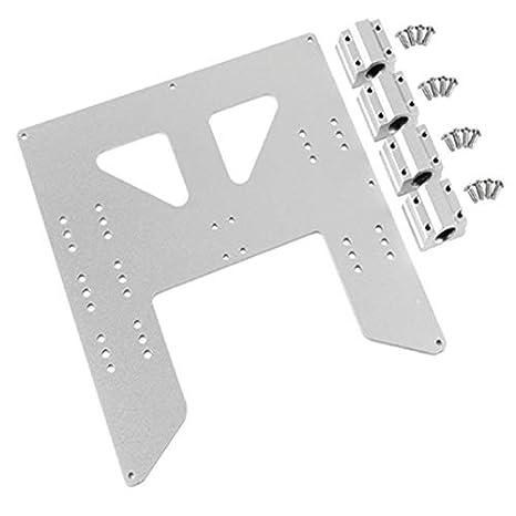 TOOGOO ActualizacióN de Impresora 3D Placa de Aluminio Anodizado ...