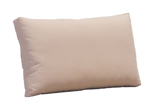 Outdoor Patio Back Cushion, Beige, Fabric ()