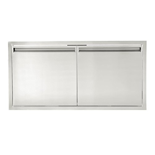 BBQGUYS Aspen Series 48-Inch Stainless Steel Double Access Door