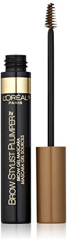 L'Oreal Paris Brow Stylist Plumper Brow Mascara, Light to Medium 375, 0.27 Fluid Ounce