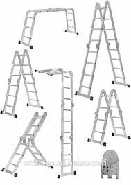 Aurora 32 Ft. Folding Multipurpose House Hold Industrial Multi Utility Aluminium Step Ladder (960 cm)