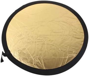 Gold//Silver 110cm Folding Reflector Board WEIHONG Sparkling 2 in 1 WEIHONG