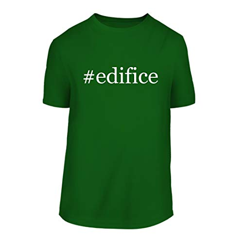 #Edifice - A Hashtag Nice Men's Short Sleeve T-Shirt Shirt, Green, Large by Shirt Me Up