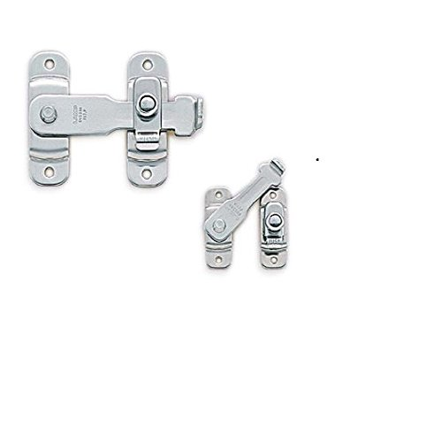 Lamp 59073 Bll-45 (SUS304) Polished Sugatsune Spring Loaded Bar Latch, Stainless Steel