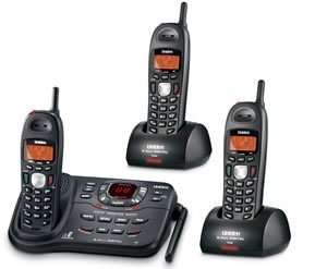 Uniden DCT738-3 2.4GHz Digital with 3 handsets Expandable Cordless Phone System with 3 handsets and Digital Answering System and Call Waiting/Caller ID
