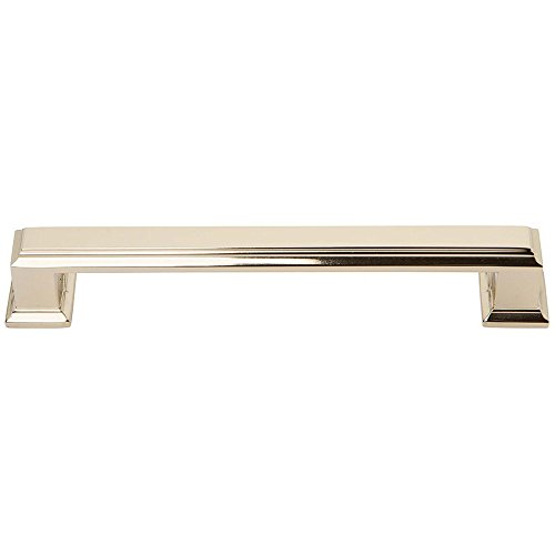 Atlas Homewares 292-FG Sutton Place Collection 128 Center Handle Large Pull, French Gold Finish (Collection Sutton)