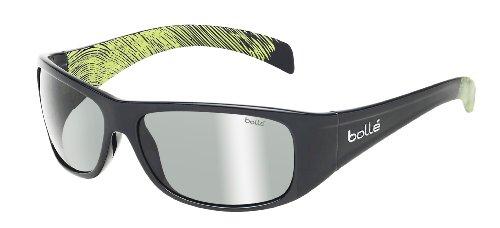(Bolle Sonar Sunglasses, Polarized TNS Gun AF, Shiny Gunmetal/Anise)