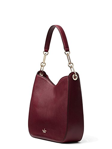 Robson Bag Spade New Sana Kate Cherry York Lane Leather Wood qtRxnBfw