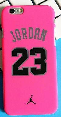 Coque Iphone 6 ou 6s Basketball 23 Rose (Livraison gratuite en France)
