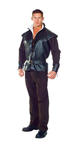 Frau Schmidt Costumes - Huntsman Adult Costume,Black,One