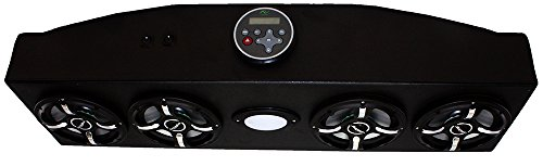 Froghead Industries CCDS304LED Four Speaker Bluetooth AM/FM Stereo System With RGB LED Speakers by Froghead Industries