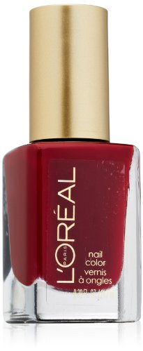 L'Oreal Paris Colour Riche Nail, Red Tote, 0.39 Ounces