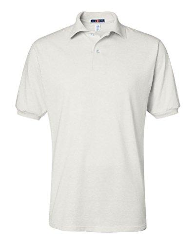 Ponce JERZEES Mens SpotShield 50/50 Sport Polo Shirt S M L XL 2XL 3XL 4XL 437MSR-437