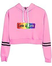 JTQMDD Mannen Gay Pride Vrouwen Lesbische Unisex hoodie Regenboog Grafische Shirts LGBT Gelijke Tee Print sweatshirt Tops