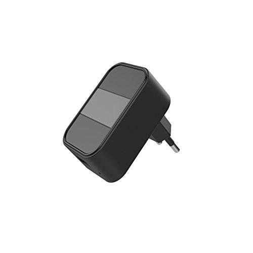 Ocamo Enchufe de la Pared del Cargador USB Mini cámara de la visión Nocturna Full HD 1080P,Enchufe EU.