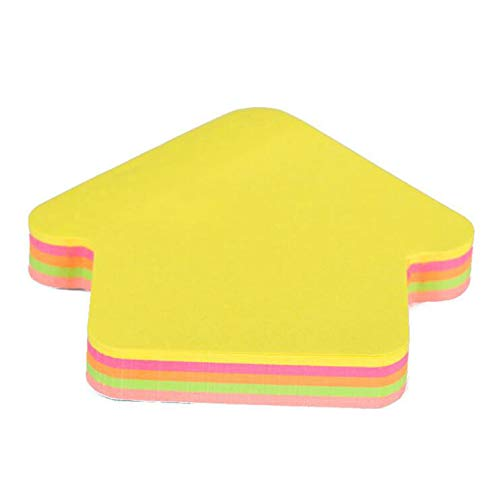 YiKaSin Nice Style Sticky Note - 76 x 76 mm Neon//Assorted Colours 100 Sheets