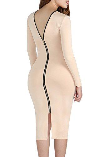 high low bandage dress - 9