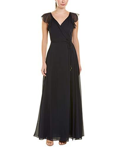 Dress Dvf Silk Wrap (Diane von Furstenberg Womens Delancey Silk Wrap Dress, 2, Blue)