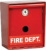 Fire Department Knox Box - 1