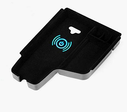 car interior accessories suitable for BMW 3 Series F30 F31 2013-2018 central armrest storage box mobile phone wireless fast charger QI certified armrest box wireless charging box
