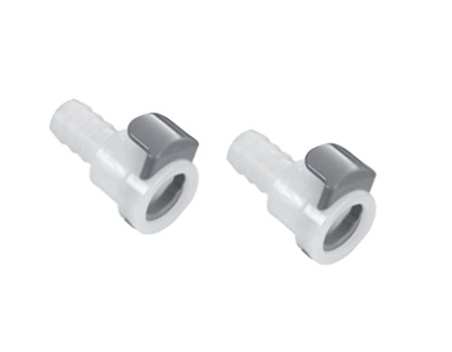 2 pack air hose quick-connect female connector replacement part for sleepnumber bed f-236 (for beds with 3/8