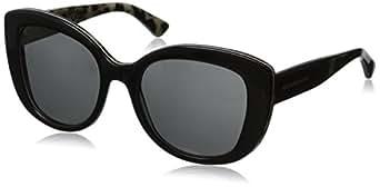 D&G Dolce & Gabbana Women's 0DG4233 Cateye Sunglasses,Black,53 mm